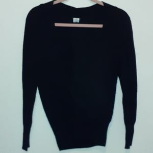 J. Crew cross sweater